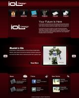 My Portfolio Second Layout by amiLOnZ