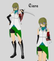 Final Fantasy OC: Ciara by KhairiLoneliness