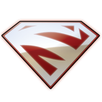 Superman Red Icon by JeremyMallin