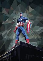 Captain America by mobokeh