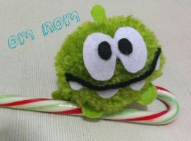 Om Nom loves Candy by Vallia