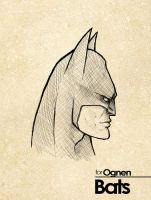 sketchshot 008 - Batman by marvelleftw