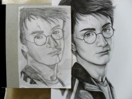 Then and Now Harry Potter Pt 2 by Hazeleyes1990