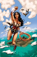 W is for Wonder Woman by timothylaskey
