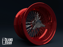 Wire wheel by ROL4NDesignStudio
