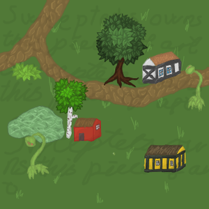 Swamp town map for Sweeptets by Sasiadragon