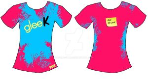 glee T-shirt 2 by Belle-star