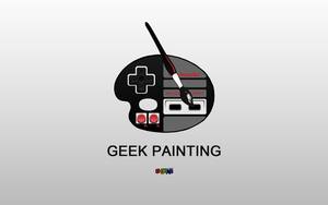 Geek Painting by ShootaB