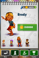 subway surfer brody by superdentbros