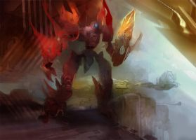 prion temple guardian by alexmartinez