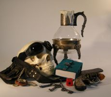 Steampunk StillLife 2 by kerisugi