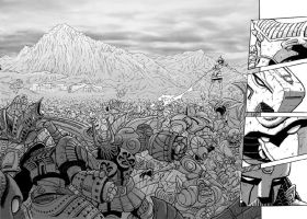 Baalbek battle by gianmac