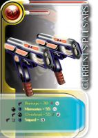 Weapon Card: Current's Pulsars by LogicDreams