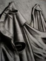 Charcoal Cloth by toughtink