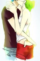 Hug Me .. I've Missed You by Yaoi-Master-Forever