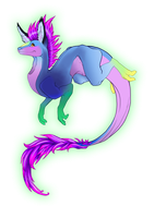 Swooshy Dragon by Cat-tale