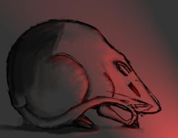 +Red Light Rat+ by goth-alice