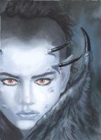 Study after Luis Royo by geors