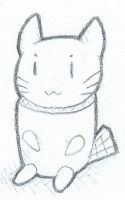 Marshmellow Kitty by IWSC
