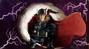 The God of Thunder by ElyPG
