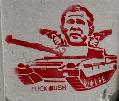 fuck bush by o0poguemahone0o