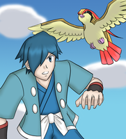 Falkner by DragonBladerX