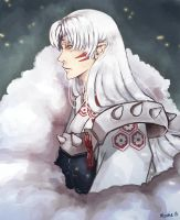 Lord Sesshomaru by Moonie-Loonie