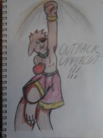 Heat uses Outback Uppercut by goldflygon