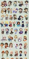 Largest Hetalia dump EVER by oneoftwo
