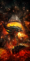 Deathwing Dragon by TH3M4G0