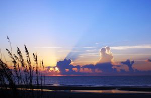 Sunrise on the Beach in Hilton Head Island, SC by winterface