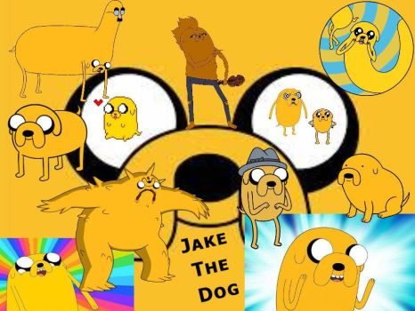 Jake The Dog! by Invader-Kabuscus