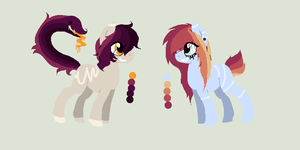 Trickster and Prankster adopts CLOSED by Rainbow-ninja-adopts