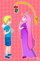 Finn and Princess Bubblegum by Misaky
