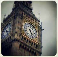 Instagram: Big Ben by FireRune-Chan