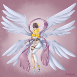 Angewomon by lekademon