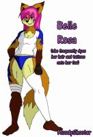 Belle Rosa Reference by MoodyShooter