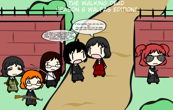 The Walking Dead: Walfas Editon! by weasel777