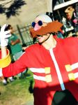 Dr Eggman Cosplay in a Picnic 3 by ViluVector