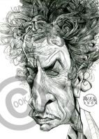 Bob Dylan by RussCook