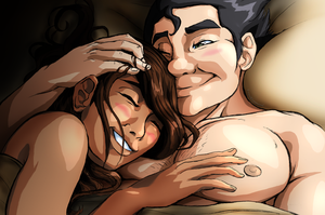 LoK [Borra] A Good Laugh by FrailElement