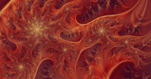 Fire Frilly Starfield by SalHunter