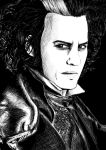 Sweeney Todd-esgrafeado by Mary147