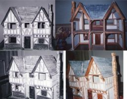 Tudor Dolls House by dashinvaine