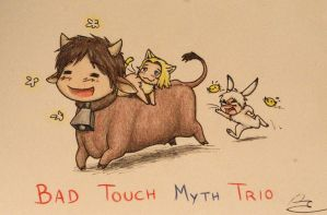 Bad Touch MYTH Trio by Birvan