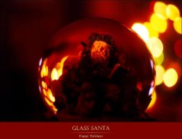 Glass Santa by achfoo