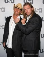 HHH and HBK by batuffolo