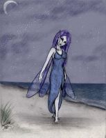 Faerie on the Sand by ladymeridian