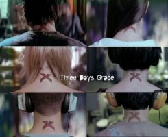 Three Days Grace: X by ezalen