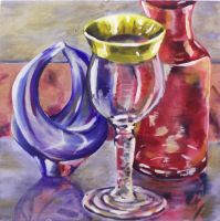 glass still life by redawson